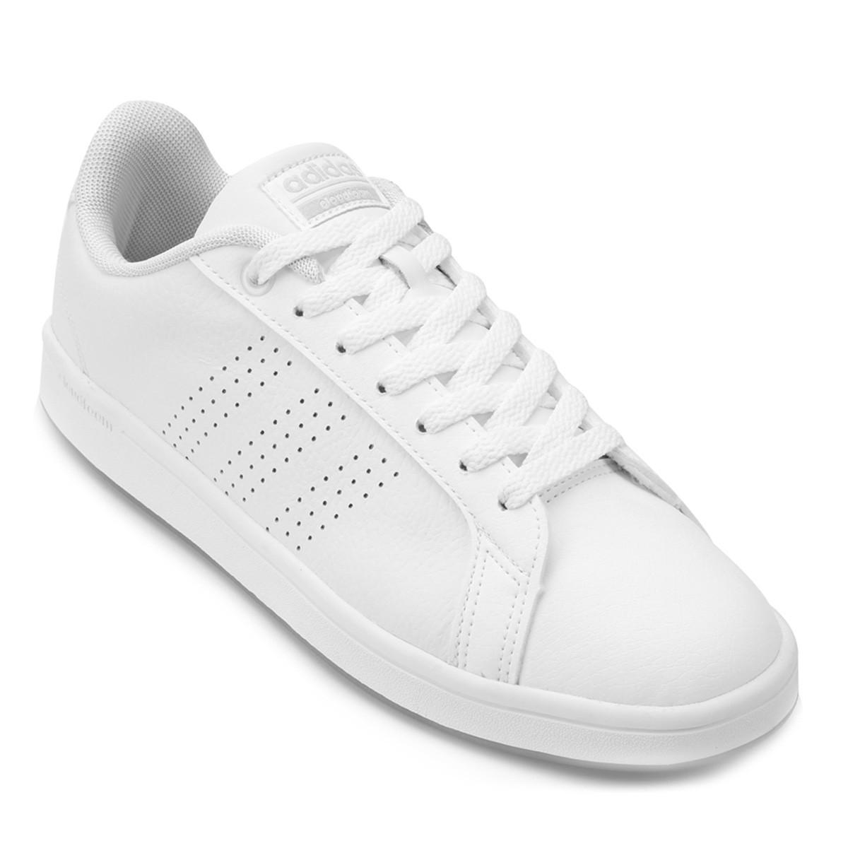 8b0c5fa22d5a0 Calcebel Tenis Adidas Advantage Clean qt w B44667