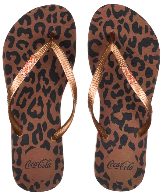4015c010a7 Calcebel Chinelo Coca Cola Safari Cc2587 - FEMININO