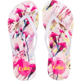 Chinelo Coca Cola Flower Move Cc2529