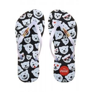 Chinelo Coca Cola Polar Bear Emoji Cc2449