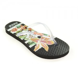 Chinelo Coca Cola Flowers Stripes Cc2581