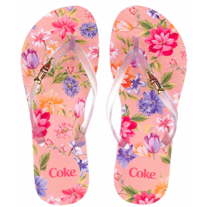 Chinelo Coca Cola Blooming Cc2578